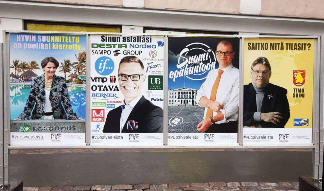 Häiriköt: Vuosi vaaleista – missä menet, Suomi? Kuva: Velda Parkkinen.